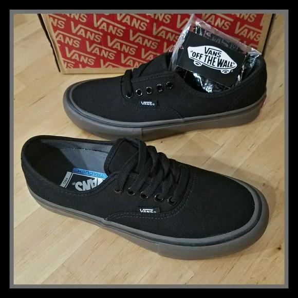 be6c6176fa73 Vans Authentic Pro Black Gum
